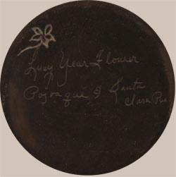 Lucy Year Flower Tafoya signature