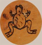 Paqua Naha - Frog Woman hallmark signature