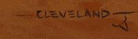 Fred Cleveland signature