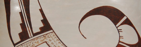 Southwest Indian Pottery Contemporary Hopi Pueblo Joy Navasie Frogwoman Hopi