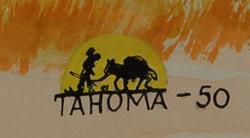 Quincy Tahoma 1917-1956 Water Edge - signature