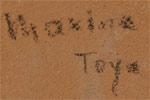 Maxine Gachupin Toya (1948 – present) signature