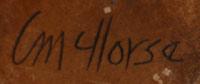 Christine Nofchissey McHorse (1948-present) signature