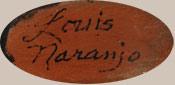 Louis Naranjo (1932-1997) artist signature