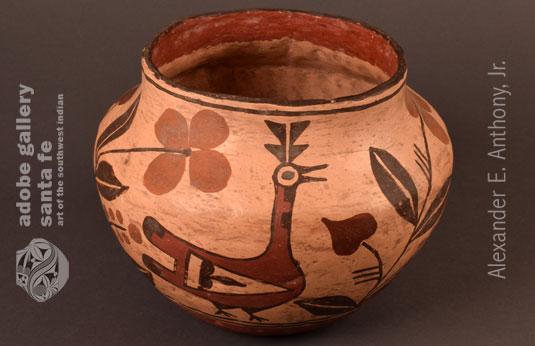 Alternate view of this Zia jar.