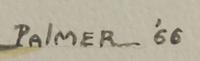 Artist signature - Ignatius Palmer (1922 - 1985) Mescalero Apache