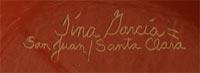 Tina Garcia (1957-2005) signature