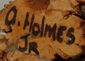 Arthur Holmes, Jr. (b. ca. 1970 - present) signature
