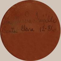 Tina Garcia Trujillo, Santa Clara Pueblo, a signature she used when married