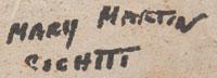 Mary Martin (1927-2011) signature