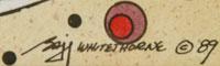 Signature of Baje Whitethorne, Sr. (1950-    )  Baje - Giggling Boy