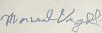 Manuel Vigil (1900 – 1990) signature