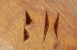 Brian Honyouti (1947-Present) signature - hallmark
