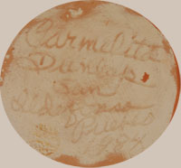 Carmelita Dunlap (1925-1999) signature