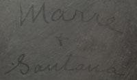 Maria Montoya Poveka Martinez and Santana - signatures