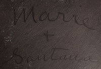 Maria and Santana Martinez signatures