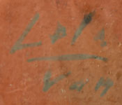 Lela and Van Gutierrez (1895-1966/c1870-1956) signature