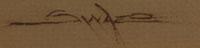 Patrick Swazo Hinds (1929-1974) signature
