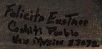 Felicita Eustace (1927 – ) signature