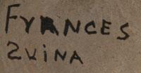Frances Suina (1902-1992) signature