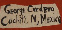 George Cordero (1944-1990) signature