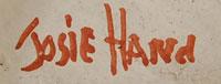 Artist signature - Josie Hand