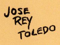 Artist Signature - José Rey Toledo (1915-1994) Towa