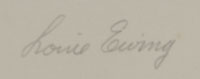 Louie Ewing (1908-1983) signature