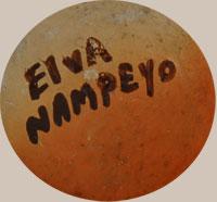 Elva Tewaguna Nampeyo (1926-1985) signature