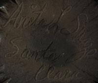 Anita Suazo (1937 - ) signature