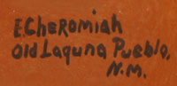 Evelyn Cheromiah (1928-2013) signature