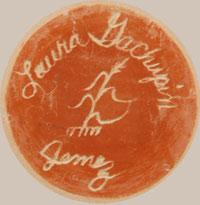 Laura Gachupin (1954- ) signature - hallmark