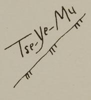 Artist Signature: Romando Vigil (1902-1978) Tse Ye Mu - Falling Cloud