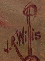 Joseph R. Willis (1876-1960) signature