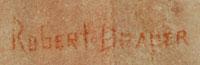 Robert Draper (1938-2000) signature