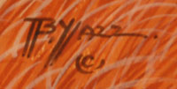 Artist Signature - Beatien Yazz (1928-2012) Little No Shirt - Jimmy Toddy