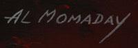 Artist Signature - Alfred Momaday (1913 - 1981) Haun Toa - War Lance