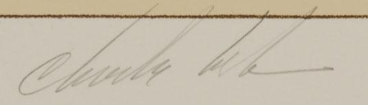 Charles Loloma (1921-1991) signature