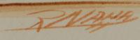 Raymond Naha (1933-1974) signature