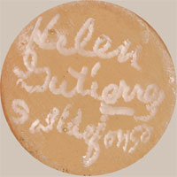 Helen Gutierrez (1930-1995?) signature