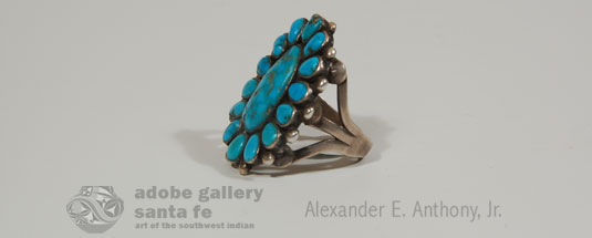 Alternate Side View of this Ring - Silverwork