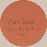 Sue Tapia (1945 - ) signature