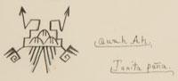 Artist Signature: Tonita Vigil Peña (1893-1949) Quah Ah