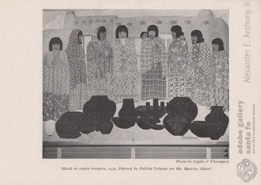 Example image from this magazine: El Palacio, vol. 59, no. 11, November 1952