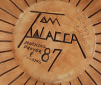 Thomas Polacca Nampeyo (1935-2003) signature