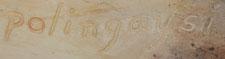 Artist Signature - Elizabeth White (1892-1990) Polingaysi Qöyawayma