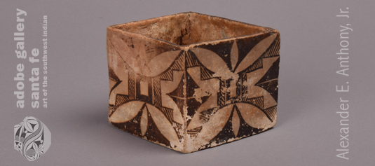 Alternate Side or corner of this pottery cube.