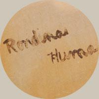 Rondina Huma (1947 –) signature