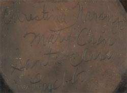 Christina Naranjo and Mary Cain Signatures