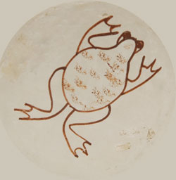 Hallmark Frog Symbol - Joy Navasie (1919-2012) Second Frog Woman-Yellow Flower